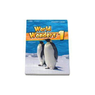 Curs de limba engleza World Wonders level 1 Workbook new editions, caietul elevului pentru clasa a V-a (National Geographic Learning)