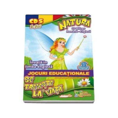 Natura se trezeste la viata. Invata in limba engleza. Jocuri educationale 3-7 ani CD 5 (Seria Anotipurile)