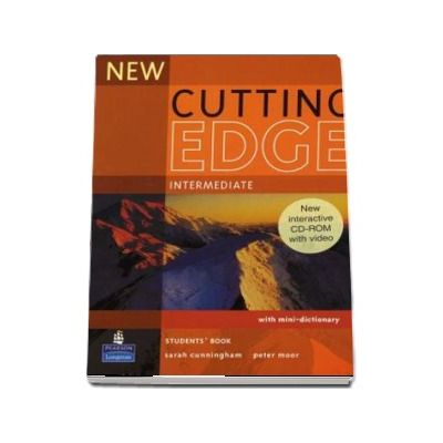 New Cutting Edge Intermediate Students Book and CD-Rom Pack (New Edition)