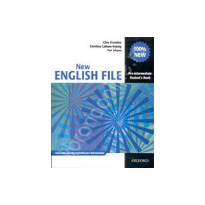 New English File Pre-Intermediate Students Book