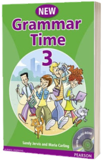 New Grammar Time 3. Students Book, with multi-ROM