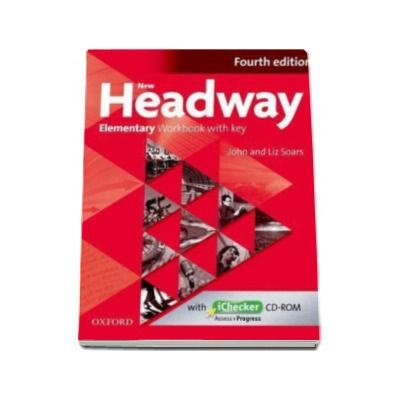 New Headway Elementary (4rd Edition) Workbook with Answer Key