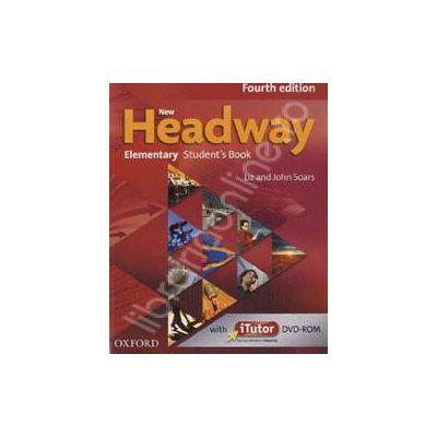New Headway Elementary Fourth Edition Students Book and iTutor Pack
