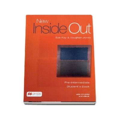 New Inside Out Pre-intermediate, student's book with ebook and CD