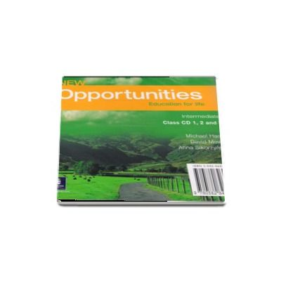 New Opportunities Intermediate Class Audio CD - Michael Harris