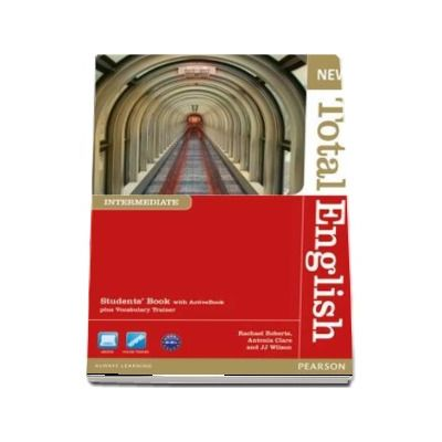 New Total English Intermediate Level Students Book with Active Book Pack - Rachael Roberts