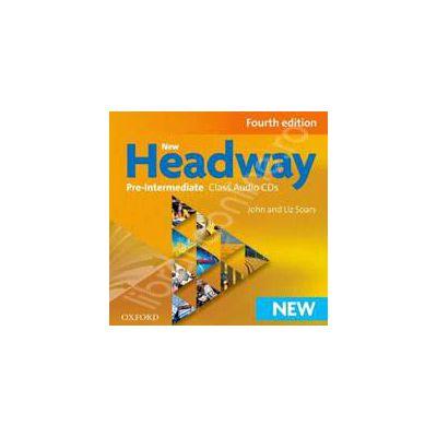 New Headway Pre-Intermediate Fourth Edition Class Audio CDs
