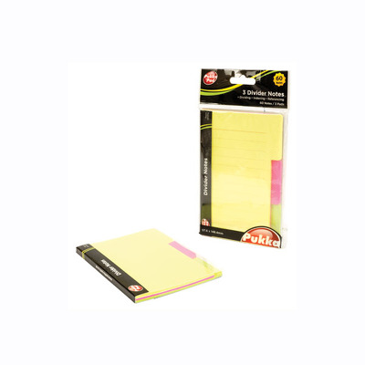 Notite autoadezive Pukka Pads 3 Padsuri 97.6x148.4mm 60 file