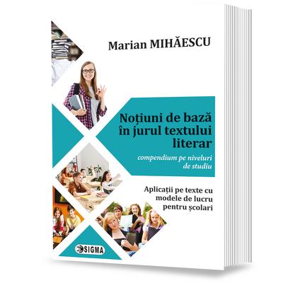 Notiuni de baza in jurul textului literar - compendium pe niveluri de studiu - Aplicatii pe texte cu modele de lucru pentru scolari