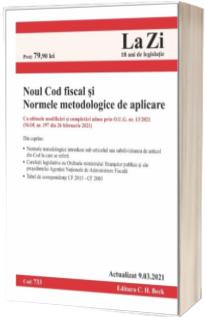Noul Cod fiscal si Normele metodologice de aplicare. Cod 693. Actualizat la 10.07.2019