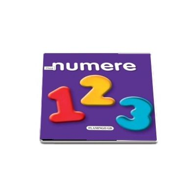 Numere (carte cu pagini cartonate si imagini)