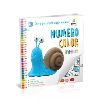 NumeroColor. Initiat - Carte de colorat dupa numere