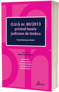 O.U.G. nr. 80/2013 privind taxele judiciare de timbru