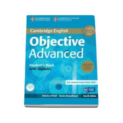 Objective Advanced Students Book Pack (Students Book with Answers with CD-ROM and Class Audio CDs (2)) 4th Edition - Pentru clasa a XI-a