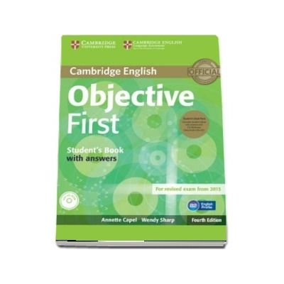 Objective: Objective First Students Book Pack (Students Book with Answers with CD-ROM and Class Audio CDs(2))