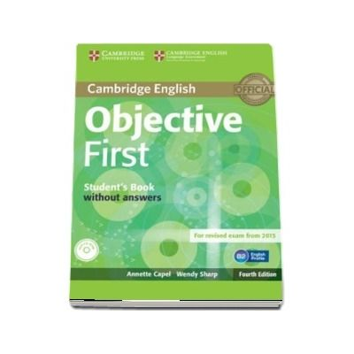 Objective: Objective First Students Book without Answers with CD-ROM