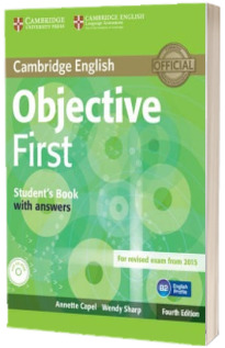 Objective: Objective First Students Book with Answers with CD-ROM