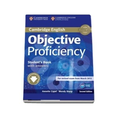 Objective: Objective Proficiency Students Book with Answers with Downloadable Software