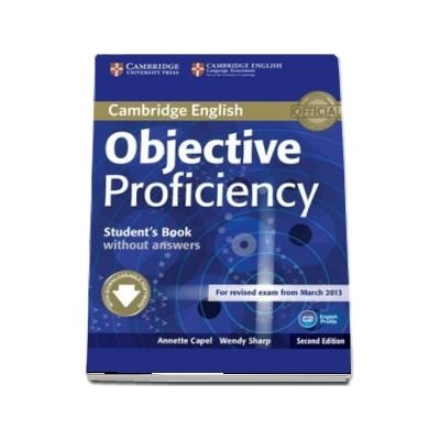 Objective: Objective Proficiency Students Book without Answers with Downloadable Software