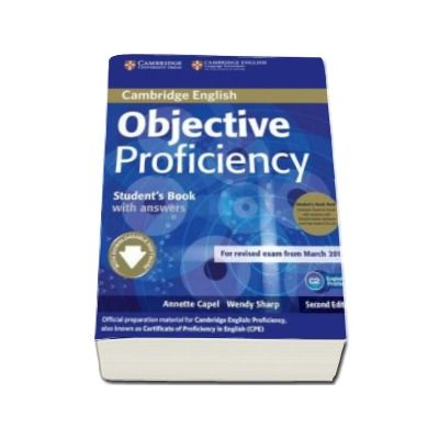 Objective Proficiency 2nd Edition Students Book Pack (Student's Book with answers with Downloadable Software and Class Audio CDs (2) - Pachetul elevului pentru clasa a XII-a