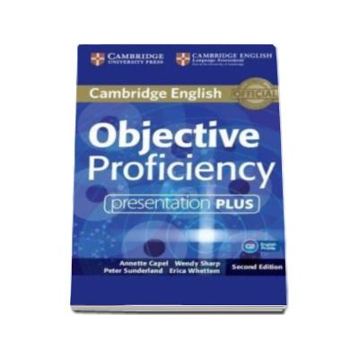 Objective Proficiency Presentation Plus DVD-ROM 2nd Edition - Pentru clasa a XII-a
