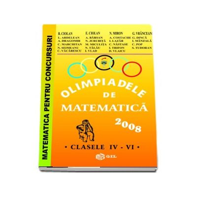 Olimpiade de matematica cls. IV-VI 2008