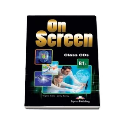 On screen B1 Plus. Class CD