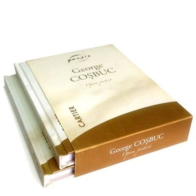 Opera poetica - George Cosbuc, caseta cu doua volume (Editia a II-a)