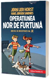 Operatiunea Nor de furtuna, editie cartonata. Biroul de investigatii, numarul 2
