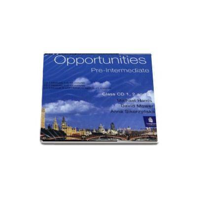 Opportunities Pre-Intermediate Global Class CD 1-3