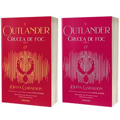 Serie de autor Diana Gabaldon. Crucea de foc 2 vol (Seria Outlander, partea a V-a, ed. 2021)