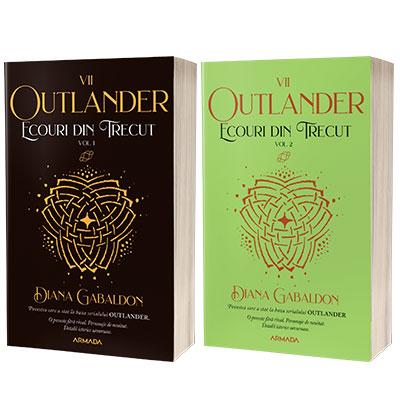 Serie de autor Diana Gabaldon. Ecouri din trecut 2 volume (Seria Outlander, partea a VII-a, ed. 2021)