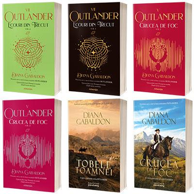 Serie de autor Diana Gabaldon. Outlander  6 volume