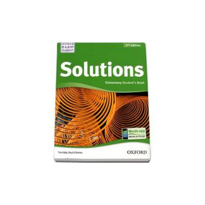 Solutions 2nd Edition Elementary Student s Book