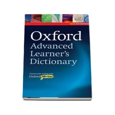 Oxford Advanced Learners Dictionary, 8th Edition. Paperback with CD ROM (includes Oxford iWriter)