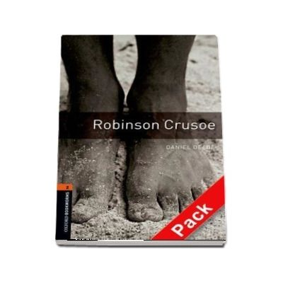 Oxford Bookworms Library Level 2. Robinson Crusoe audio CD pack