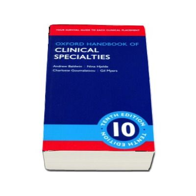 Oxford Handbook of clinical specialities - Tenth Edition