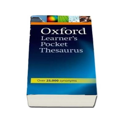 Oxford Learners Pocket Thesaurus : Over 25000 synonyms - Format, Paperback