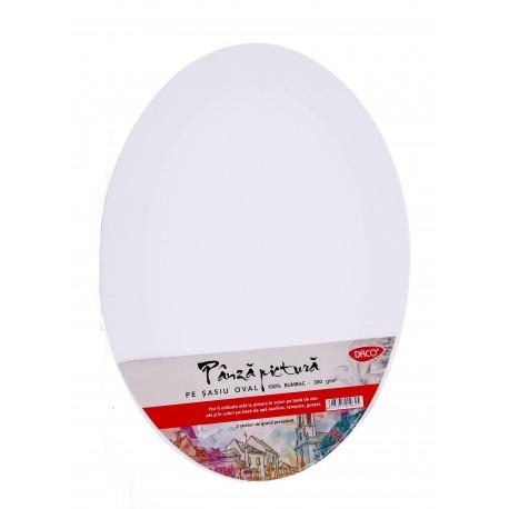 Panza pictura pe sasiu oval 35 x 50 cm Daco PZO3550