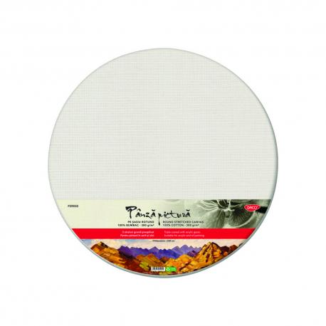 Panza pictura pe sasiu rotund, 50 cm, Daco