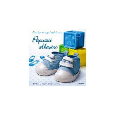 Papuceii albastri - primul an din viata baietelului meu