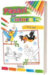 Pasari de colorat