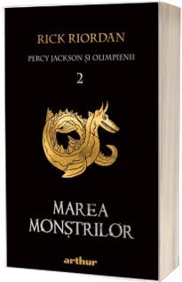 Percy Jackson si Olimpienii. Marea Monstrilor - Cartea a II-a (Editie paperback)