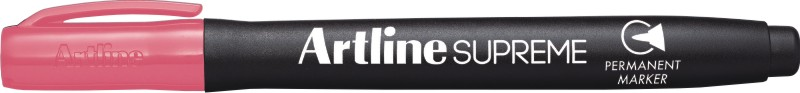 Permanent marker Artline Supreme, corp plastic, varf rotund 1.0mm - roz pastel