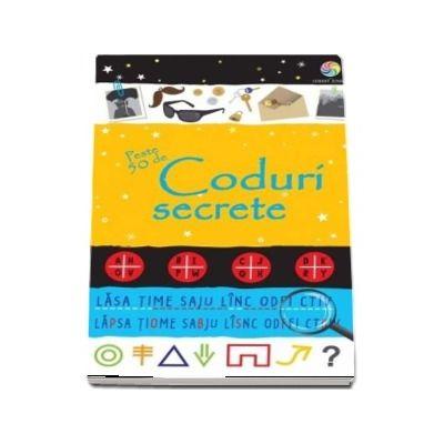Peste 50 de coduri secrete - Rezolva enigmele, sparge codurile, cifreaza si descifreaza mesajele secrete