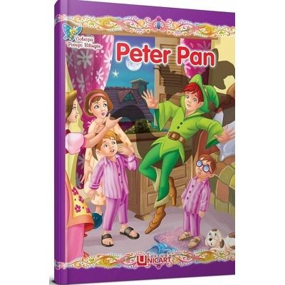 Peter Pan (bilingva romana-engleza)