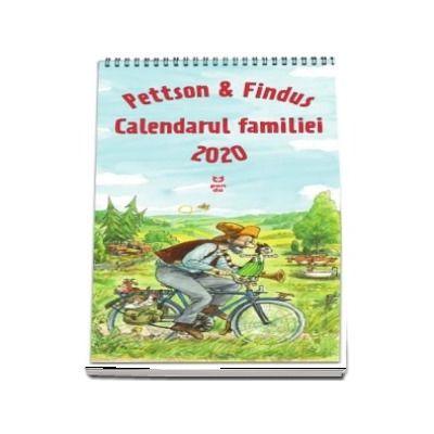 Pettson si Findus. Calendarul Familiei 2020