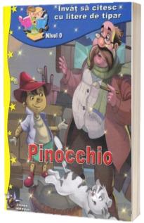 Pinocchio. Invat sa citesc cu litere de tipar, nivel 0