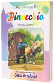 Pinocchio. Povestile Copilariei, carte de colorat