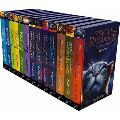 Pisicile razboinice. Set primele treisprezece volume